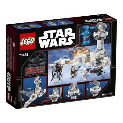 75138 LEGO Hoth Attack back